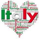 Quiero Italia ilustración del vector