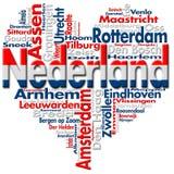 Quiero Nederland (Países Bajos) libre illustration