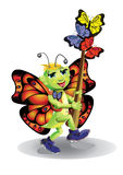 Quiero ser una mariposa Fotografía de archivo libre de regalías