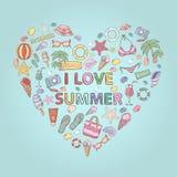 Quiero verano Imágenes de archivo libres de regalías