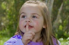 Quiet!!! Fotos de Stock Royalty Free