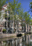 Quiet Amsterdam Canal Royalty Free Stock Photography