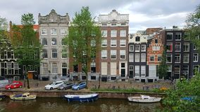 Amsterdam Neighbourhood Royalty Free Stock Photo