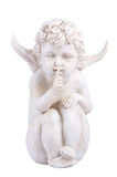 Quiet Angel Cherub Stock Images