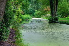 A Quiet Backwater Stock Photo