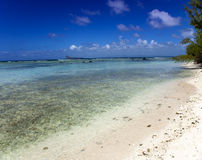 Quiet bay of the island Gabriel. Mauritius Royalty Free Stock Photos