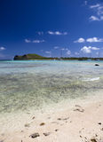 Quiet bay of the island Gabriel. Mauritius Stock Image