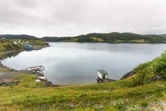 Quiet bay, Trinity, Newfoundland Royalty Free Stock Photos