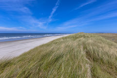 Quiet beach on Wadden island Royalty Free Stock Image