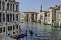 Quiet and beautiful Venice royalty free stock images