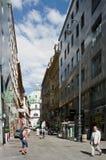Quiet city life in Vienna Stock Image