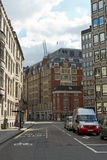 Quiet city street in London, England Royalty Free Stock Photos