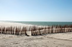 Quiet clear beach Royalty Free Stock Photos