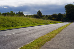Quiet Country Road Royalty Free Stock Photo