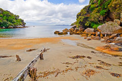 Quiet Cove on the Ocean Royalty Free Stock Images