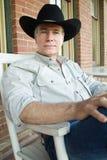 Quiet Cowboy Stock Photography
