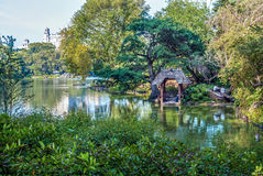 Quiet Day Central Park royalty free stock photo