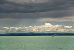 quiet de lac Image libre de droits