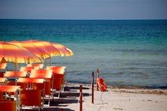 quiet de plage Photo libre de droits