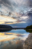 Quiet evening on a river Royalty Free Stock Photo