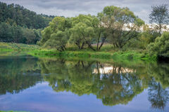 Quiet Evening on the river Royalty Free Stock Images
