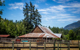Quiet Farm on a Sunny Day Royalty Free Stock Image