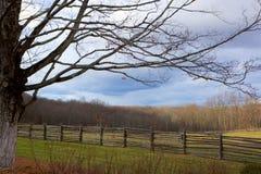Quiet Fields Stock Photo