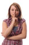 Quiet Gesture. Stock Image