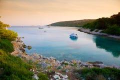 Quiet harbor Stock Image