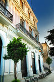 Quiet Havana city street Royalty Free Stock Photos