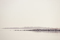 Quiet lake in the morning Royalty Free Stock Image