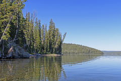 Quiet Lake in the Mountains Royalty Free Stock Photography