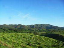 Quiet landscape salamanquero Spain Stock Photo