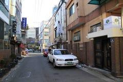 Quiet line in Seoul Korea Royalty Free Stock Photos