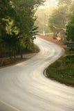 Quiet local road Stock Images