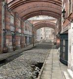 A quiet London street Royalty Free Stock Photo