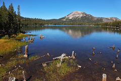 A quiet mountain lake Royalty Free Stock Photography
