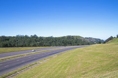 Quiet N3 Highway and Green Countryside Stock Photography