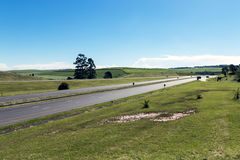 Quiet N3 Highway and Green Countryside Royalty Free Stock Photo