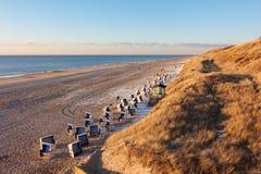 Quiet North Sea beach Stock Images