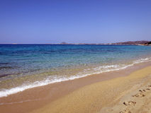 Quiet paradise in Naxos island Stock Photo