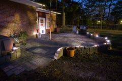 Quiet patio Royalty Free Stock Photo