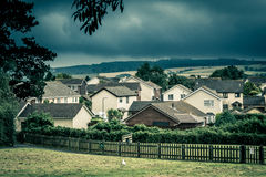 Quiet residential area Royalty Free Stock Photos