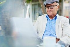Quiet Retirement Joys Stock Photo