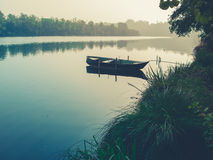 A quiet river in Italy Stock Photography