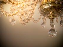 Quiet room chandelier Stock Photo