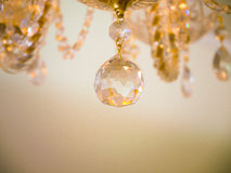 Quiet room chandelier Royalty Free Stock Photos