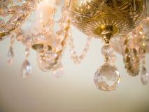 Quiet room chandelier Stock Photos