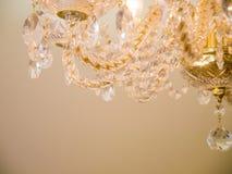 Quiet room chandelier Stock Images