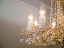Quiet room chandelier Royalty Free Stock Photo
